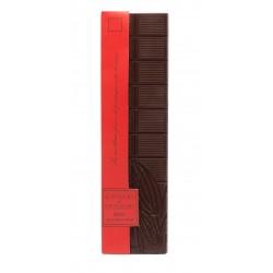 Plaquette de chocolat noir