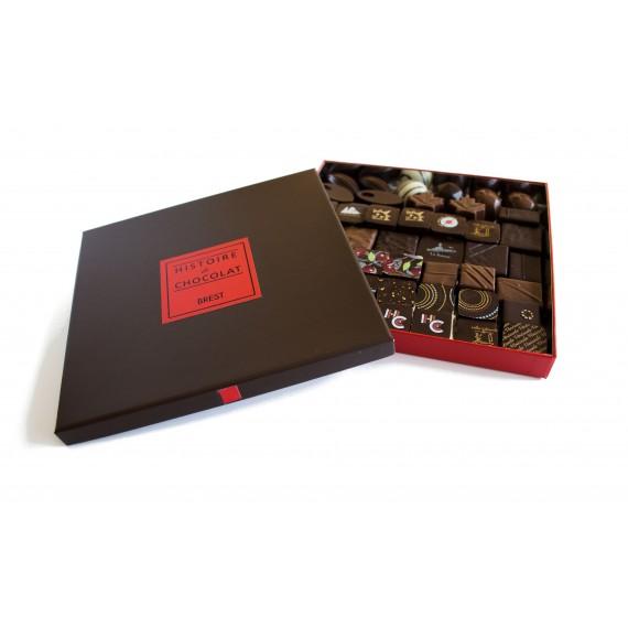 Ballotin de 375g de chocolat noir