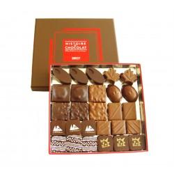 Ballotin de 250g de chocolat praliné