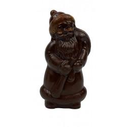 Père Noel en chocolat noir